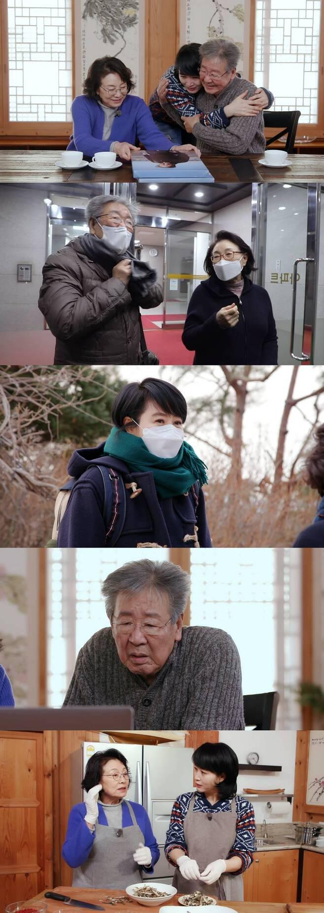 `한국인의 밥상` 10주년을 맞아 최불암이 아내 김민자, 배우 김혜수와 함께 지난 시간을 돌아본다. 제공 KBS