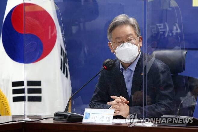 이재명 경기지사 [연합뉴스 자료사진. 재판매 및 DB 금지]