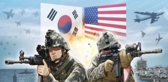 한미연합훈련. 연합뉴스