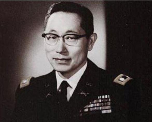 중령 시절의 故 김영옥 대령