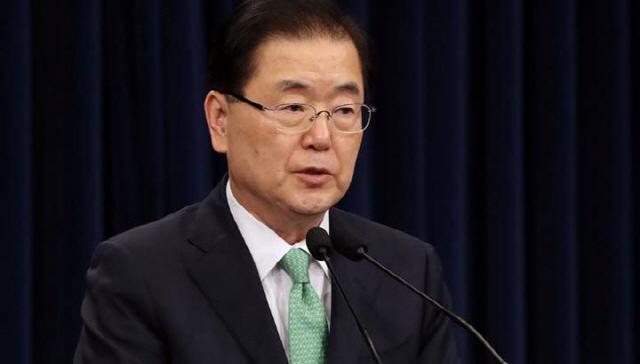 정의용 외교부 장관 후보자. /연합뉴스