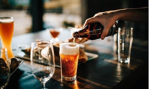 중국에서 팔리는 수입산 맥주 [글로벌타임스 캡처]