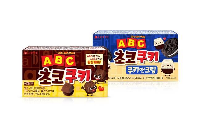 ABC초코쿠키(롯데제과 제공)© 뉴스1