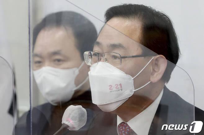 주호영 국민의힘 원내대표 2021.2.22/뉴스1 © News1 박세연 기자