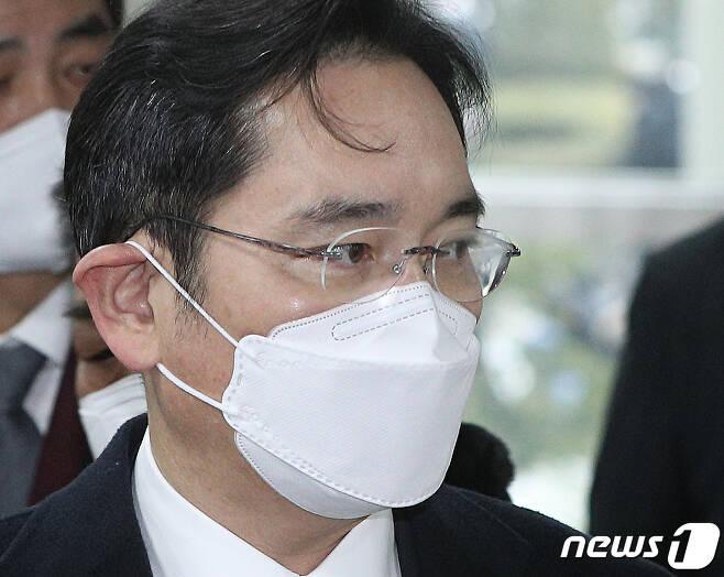 이재용 삼성전자 부회장2021.1.18/뉴스1 © News1 신웅수 기자