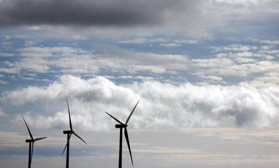 스페인에 설치된 풍력발전 모습. 자료 사진. 로이터 뉴스1