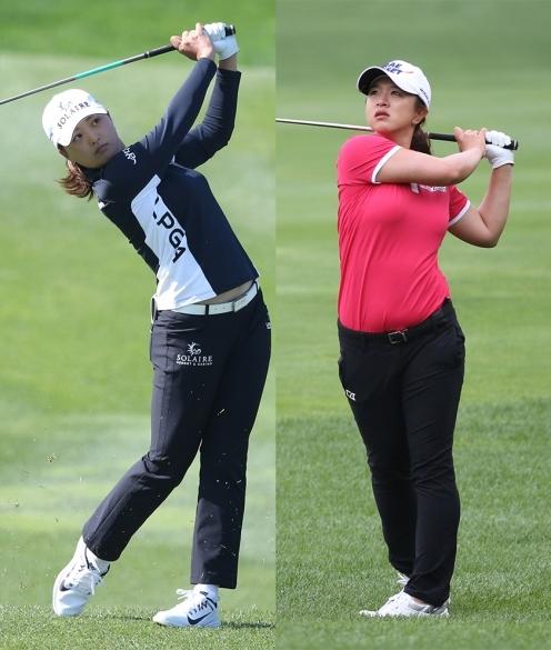2021년 미국여자프로골프(LPGA) 게인브리지 LPGA 대회에 출전하는 고진영, 김세영 프로. 사진제공=KLPGA