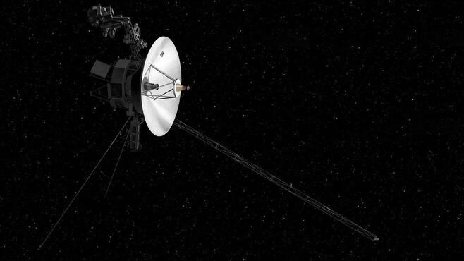 성간우주로 진입한 '보이저2호' 상상도 [NASA 제공]