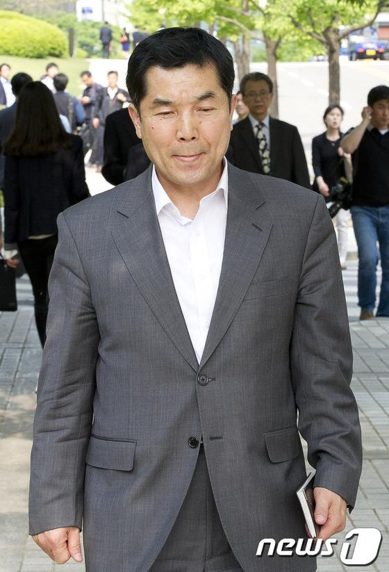 이정배 전 파이시티 대표. 2012.5.8/뉴스1