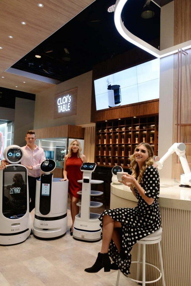 (사진) LG전자의 '클로이' 로봇 제품들. /LG전자 제공