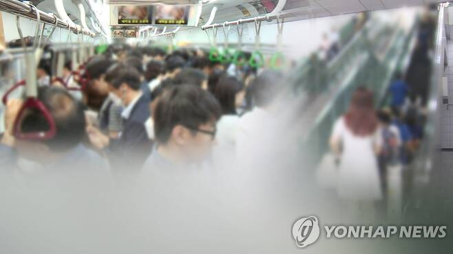 지하철 성추행범, 퇴근하던 범죄학 박사 경찰관에 덜미 (CG) [연합뉴스TV 제공]