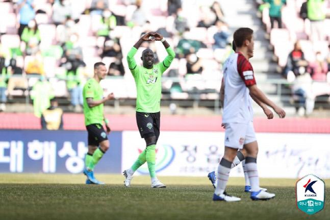 전북 현대의 윙어 바로우.제공 | 프로축구연맹