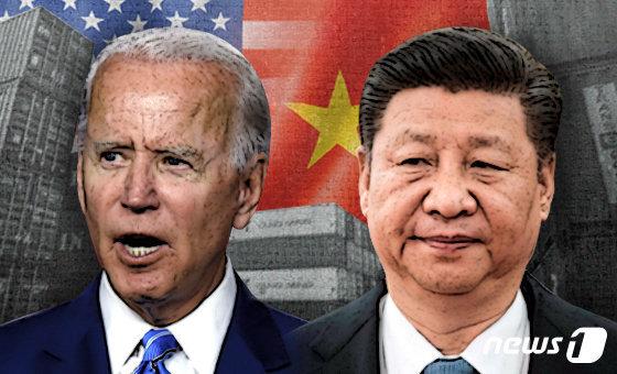 조 바이든 미국 대통령(왼쪽)과 시진핑 중국 국가주석. © News1