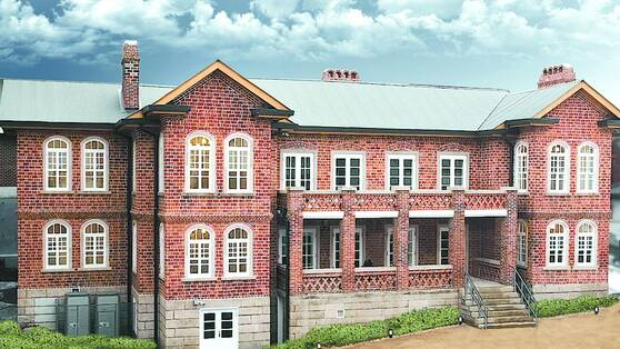"""Dilkusha, meaning """"Palace of Heart's Delight"""" in Sanskrit, and a Western-style house built by Albert Taylor (1875-1948), who reported the March 1 Independence Movement around the world, is located in Haengchon-dong, northern Seoul."""