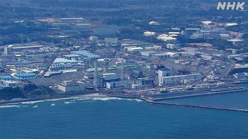 후쿠시마 제1원전 모습. 매일 170t에 달하는 방사능 오염수가 발생하고 특히 사고 10년이 지난 지금도 건물에서 1시간 안에 사망에 이르는 초강력 방사선 방출되는 것으로 전해졌다. NHK 방송화면