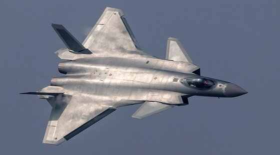 중국 J-20 스텔스 전투기 [중앙포토]