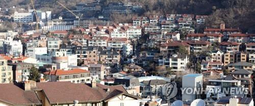 서울의 빌라촌 [연합뉴스 자료사진]