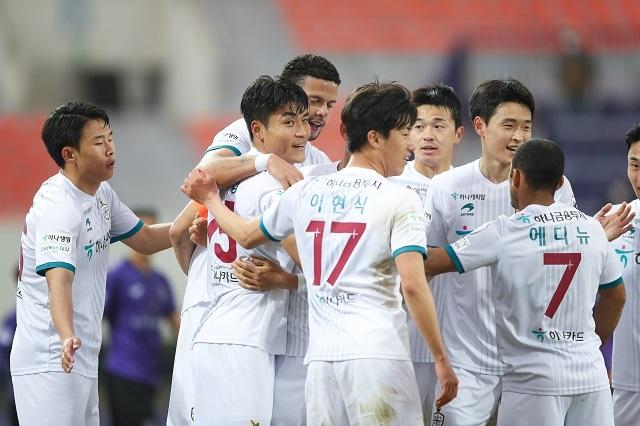 대전 단체. 사진=한국프로축구연맹 제공
