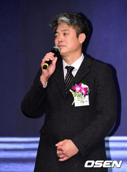 [OSEN=지형준 기자]안경현 한은회 차기 회장이 인사말을 하고 있다. /jpnews@osen.co.kr