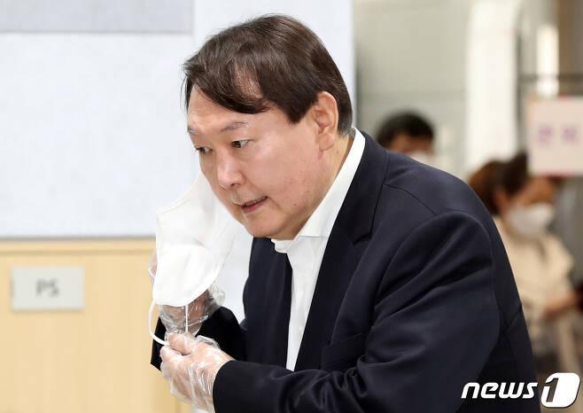 윤석열 전 검찰총장 2021.4.2/뉴스1 © News1 신웅수 기자