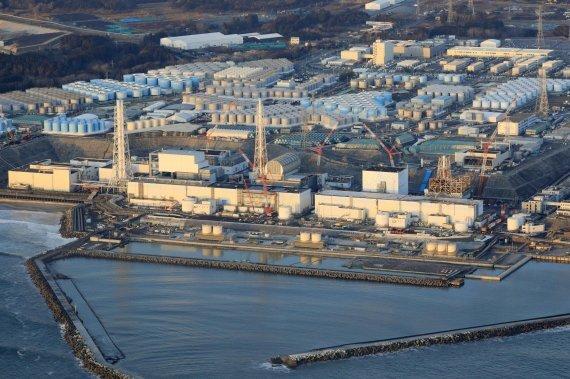 일본 동북부 후쿠시마현 소재 후쿠시마 원자력 발전소. 사진=AP/뉴시스.