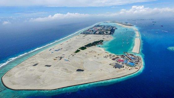 몰디브 인공섬
