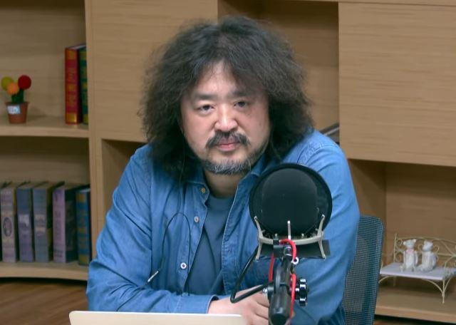 방송인 김어준씨. tbs교통방송 김어준의 뉴스공장 캡처
