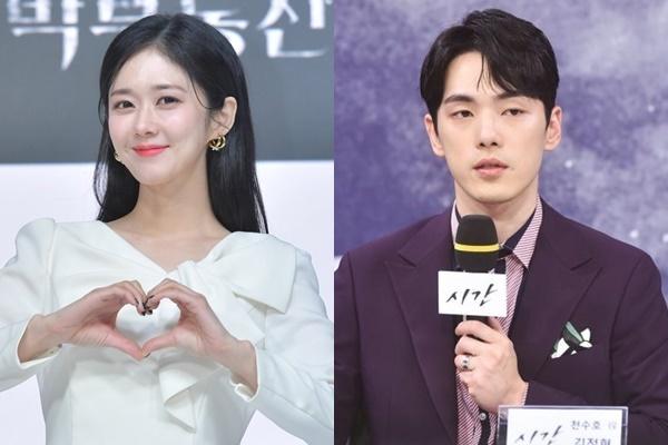 배우 장나라(왼쪽)와 김정현/ 사진=KBS, 텐아시아DB