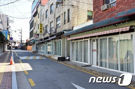 수원역 주변 성매매업소 거리. © News1