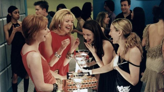 2000년대 초반 방영된 미국 TV 드라마 '섹스앤더시티'는 중고 물품 거래를 미적 수단으로 부각시키는 역할을 했다. 미국 HBO 홈페이지 캡처