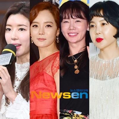 박한별, 채림, 안선영, 황혜영