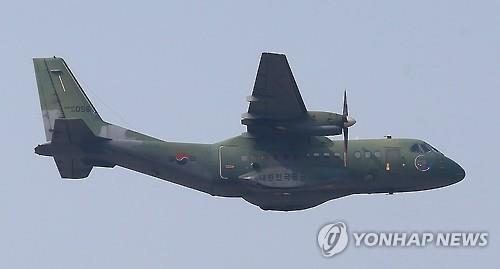 공군 CN-235 수송기 [연합뉴스 자료사진]