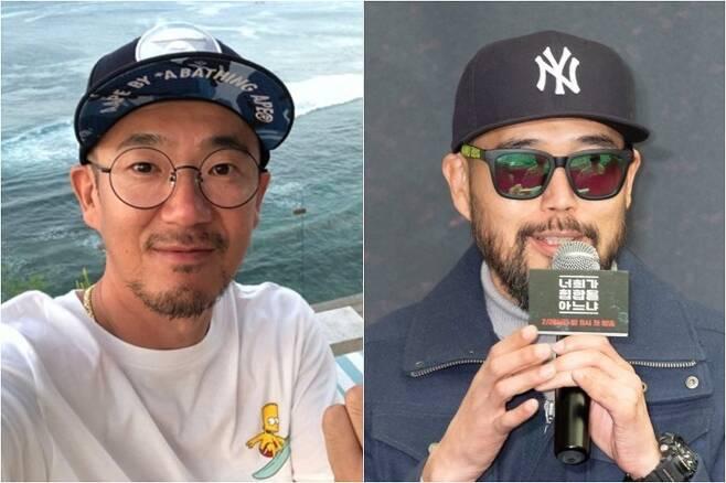 ▲ 이하늘(왼쪽), 이현배 형제. 출처  이하늘 인스타그램, 엠넷 제공