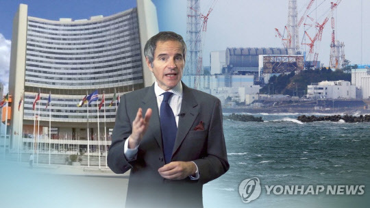 라파엘 마리아노 그로시 IAEA 사무총장.                     연합뉴스