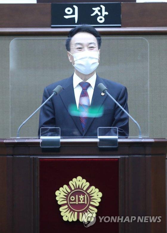 김정태 서울시의회 운영위원장. 연합뉴스