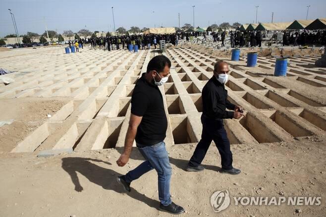 이란 수도 테헤란 인근 묘지 [EPA=연합뉴스]