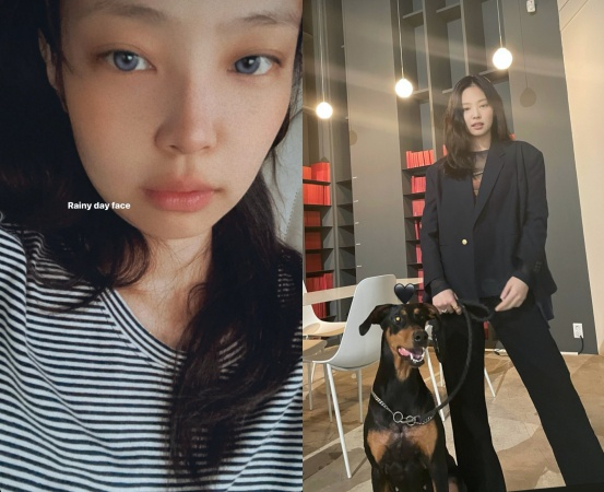 Jenny Kim posted a photo on Instagram Stories on Monday.In the photo, Jenny Kim has a makeup-free face - a shiny visual, even though its a folk face, with Jenny Kim expressing her affection to fan club Blink with a wink and a kiss pose.Meanwhile, BLACKPINK, which Jenny Kim belongs to, held its first live stream concert YG PALM STAGE-2021 BLACKPINK: THE SHOW in January and met with fans around the world.Copyrightsc (https://star. mt. co