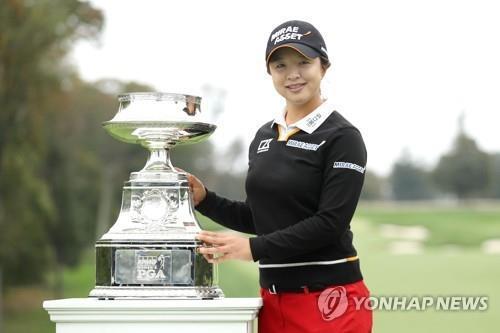 작년 무관중으로 열렸던 KPMG 여자PGA 챔피언십 우승자 김세영. [AFP/게티이미지=연합뉴스]