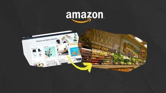 온라인 전자상거래 기업 아마존은 수퍼마켓 체인 홀푸드마켓을 인수하며 오프라인 시장에 진출한다. 조은재PD