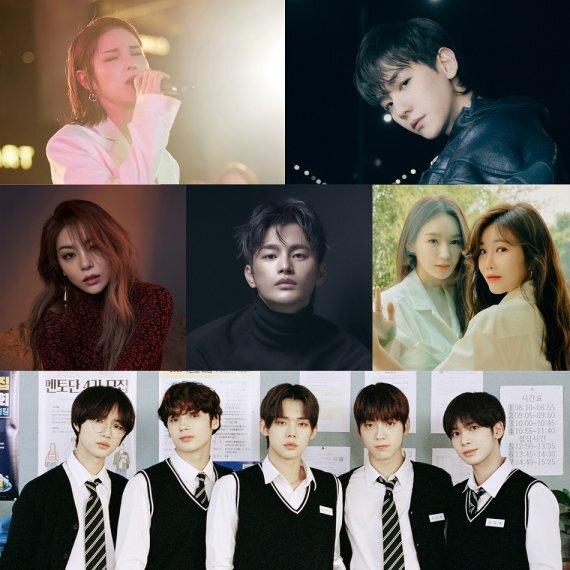 멸망 OST 참여 아티스트 /사진=뮤직앤뉴