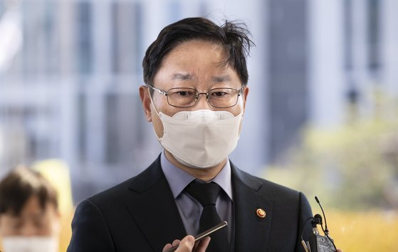 박범계 법무부 장관. 임현동 기자