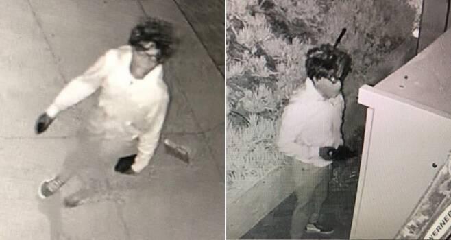 미국 현지시간으로 지난 2일 캘리포니아 로스앤젤레스 경찰은 백인으로 위장하고 지난 1년간 부유한 가정을 골라 절도를 저지른 흑인 남성을 체포했다. 범죄 현장에서 찍힌 변장한 절도범의 모습