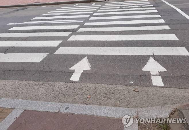 횡단보도 [연합뉴스 자료사진]