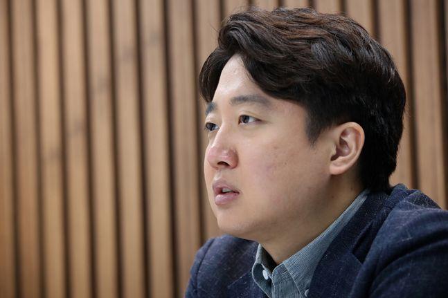 이준석 전 국민의힘 최고위원 인터뷰. ⓒ데일리안 류영주 기자