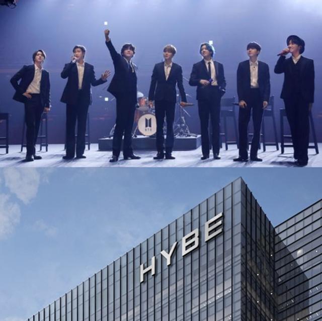 하이브는 지난 3월 22일 서울 용산구에 위치한 용산 트레이드센터로 대대적인 사옥 이전을 알렸다. 하이브 제공