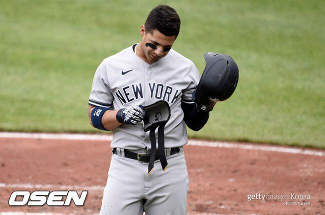 [사진] 뉴욕 양키스의 글레이버 토레스.ⓒGettyimages(무단전재 및 재배포 금지)