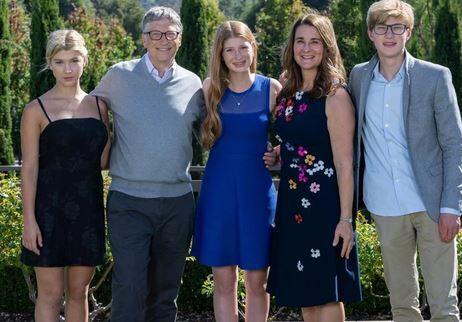 빌 게이츠 가족 사진. 출처:인스타그램