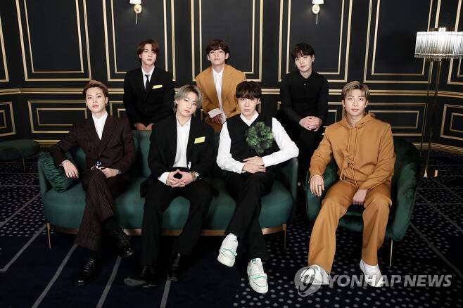 방탄소년단(BTS) [빅히트 엔터테인먼트 제공. 재판매 및 DB 금지]