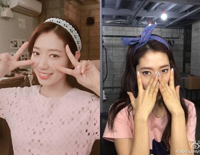출처: 박신혜 인스타그램, 웨이보