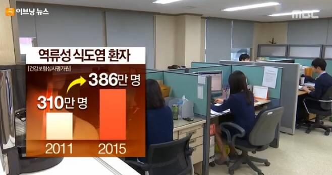 출처: MBC 이브닝뉴스 캡처